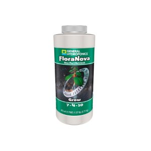 Fertilizante Floranova Grow 7-4-10 473ml - General Hydroponics