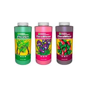 Kit Floraseries - Grow + Micro + Bloom 473ml