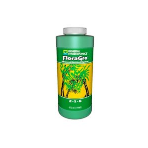 Fertilizante FloraGro 2-1-6 473ml - General Hydroponics