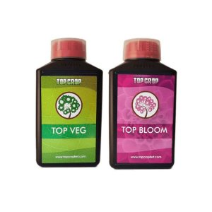 Kit Top Veg + Top Bloom 1 Litro - Fertilizantes Top Crop