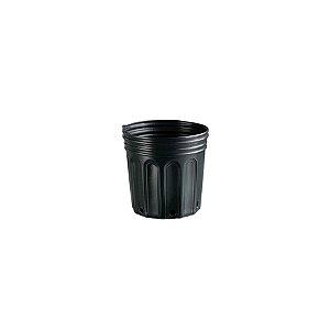 Vaso / Embalagem para muda 08 litros Preto - Nutriplan