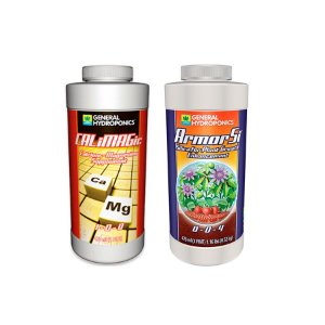 Kit Saúde e Vigor - Calimagic 473ml + Armor Si 473ml - General Hydroponics