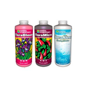 Kit FloraBloom, FloraMicro, FloraKleen 946ml