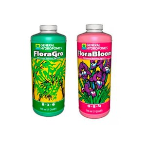 Kit General Hydroponics Floraseries Duo - Grow e Bloom 2x946ml