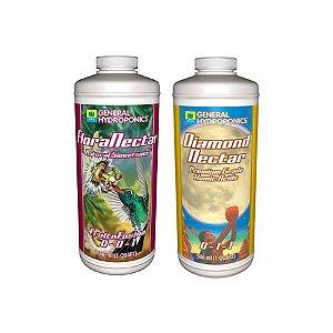 Kit Estimulante + Sabor - Diamond Nectar e FloraNectar 2x946ml - General Hydroponics