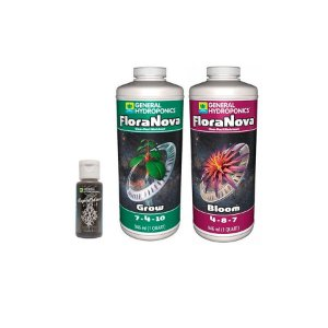 Kit FloraNova Grow + Bloom 946ml + Rapid Start 30ml - General Hydroponics