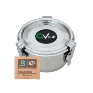 CVault - Pote Hermético com Boveda - Pequeno - 0,175L