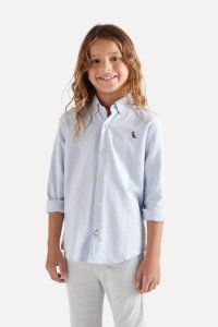 CAMISA MINI CONT OXFORD