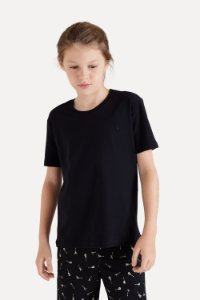 CAMISETA MINI PF CARECA (PRETO)