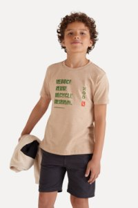CAMISETA MINI SM TERRA SILK ECO INV20
