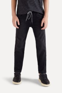 CALÇA JEANS MINI SM BLACK