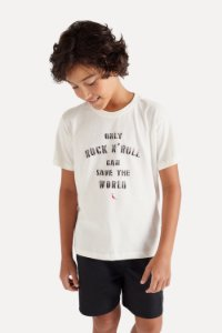 CAMISETA MINI SM SILK ROCK SAVE