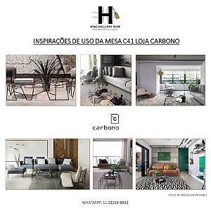 MESA DE CENTRO C41 LOJA CARBONO DESIGN BY MARCUS FERREIRA 2012