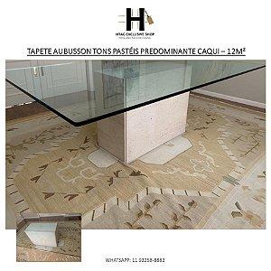 TAPETE AUBUSSON TONS PASTÉIS PREDOMINANTE CAQUI – 12M²