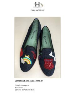 LOAFER BLUE BIRD JEANS – TAM. 37