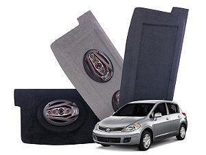 Tampão Bagagito Nissan Tiida | Cinza Escuro