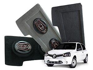 Tampão Bagagito Clio Hatch 2013 a 2016 | Cinza Escuro