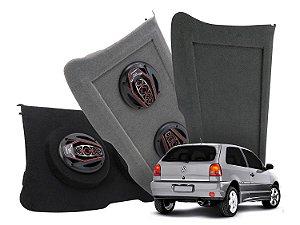 Tampão Bagagito VW Gol - G2 G3 - 1995 a 2005 | Cinza Escuro