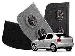 Tampão Bagagito GM Astra Hatch 1999 a 2011 | Cinza Escuro
