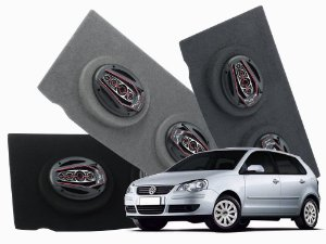 Tampão Bagagito Polo Hatch 2003 a 2014 | Cinza Claro