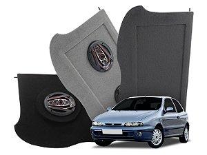 Tampão Bagagito Fiat Brava 1995 a 2003 | Cinza Claro
