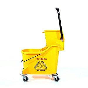 Balde Espremedor 2 Águas Perfect Amarelo 33L
