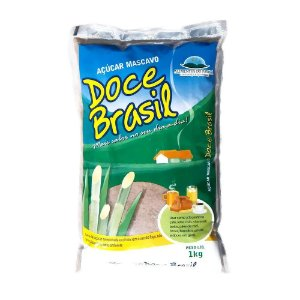 Açúcar Mascavo Doce Brasil 1Kg
