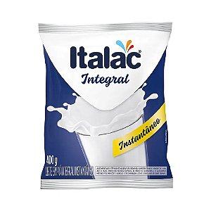 Leite em Pó Italac Integral Instantâneo 400g