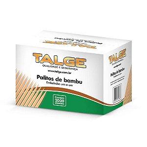Palito Dental Bambu Sachet Talge C/2000