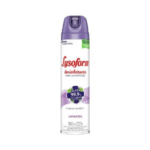 Desinfetante Aerossol Lysoform Lavanda 360ml