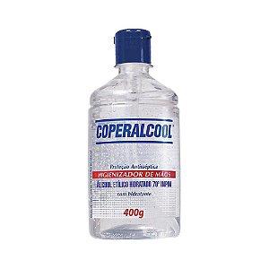 Álcool Gel 70% Coperalcool C/ Tampa 400g