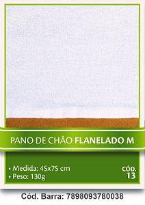 Pano de Chão Flanelado M 45x75cm Itatex