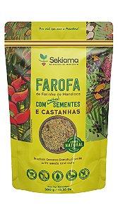 Farofa De Sementes E Castanhas - Pct 300g.