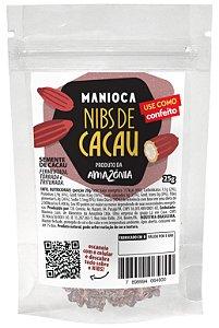 Nibs De Cacau 25g Manioca - 100% Natural E Vegano