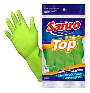 Luva Látex SANRO TOP (verde) CA40.045