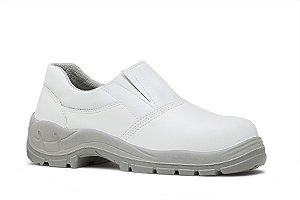 Sapato Branco Enfermagem Hospitalar BRACOL Elástico Microfibra CA29.951