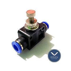 Regulador de Fluxo para Tubo 6mm