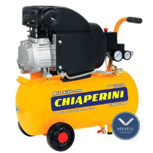 MotoCompressor MC 7,6 / 21L 2HP 2P 1 Estágio 120 Libras 127V - Chiaperini