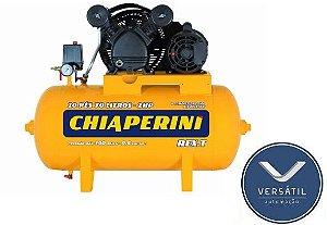 Compressor De Ar Média Pressão 10 pcm 70 Litros - Chiaperini 10 PÉS
