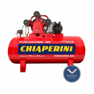 Compressor Ar 15/200 RED RCH 200L C/MM 3HP 110/220V IP21 140 LIBRAS - Chiaperini