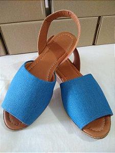 Sandália em Jeans claro super confortavél lindas para seus pés.