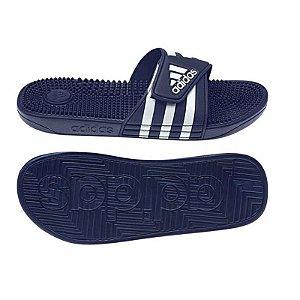 Chinelo Unisex Adidas Adissage Azul Marinho e Branco