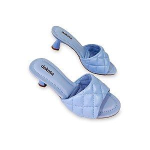 Tamanco Feminino Quintana Artico Azul