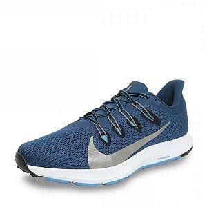 Tênis Esportivo Masculino Nike Quest 2 CI3787401 COR AZUL