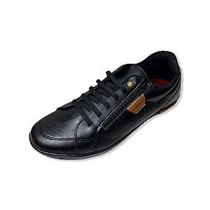 Tênis Casual Masculino Strikwear 373A COR PRETO