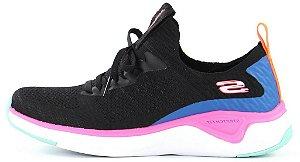 Tênis Esportivo Feminino Skechers 13325 COR PRETO