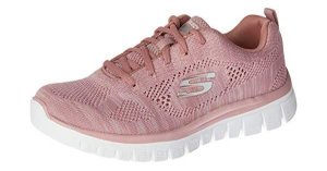 Tênis Esportivo Feminino Skechers 88888266 COR ROSE