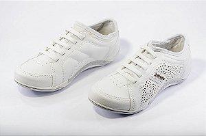 Tênis Casual Feminino Kolosh C1294 COR OFF WHITE
