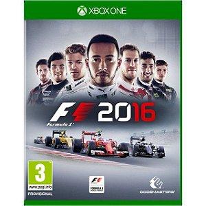 Jogo F1 2016 XBOX ONE Mídia Digital
