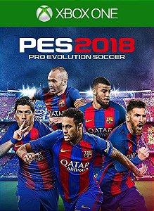 Jogo PES 2018 XBOX ONE Mídia Digital